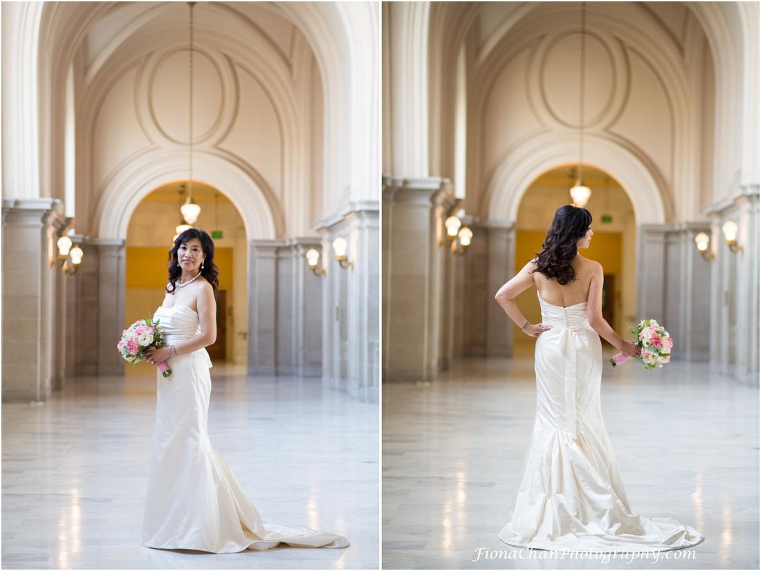 fiona chan photography wedding san francisco city hall