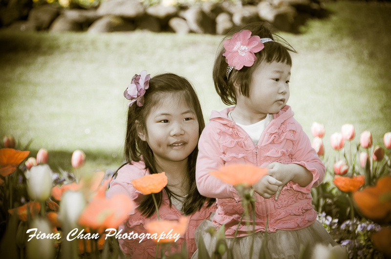 Fiona Chan Photography Family Portraits In Queen Wilhelmina Tulip Garden